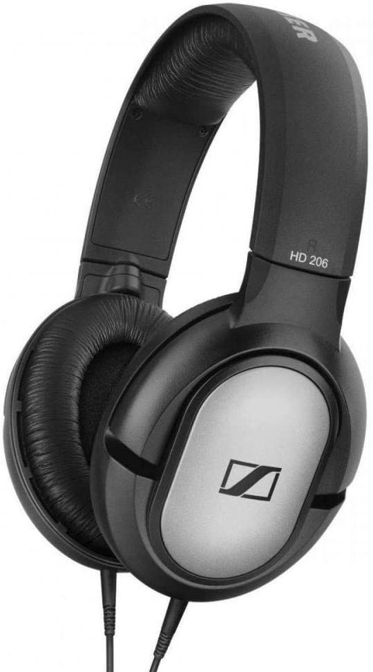 sennheiser hd 206 over-ear negro