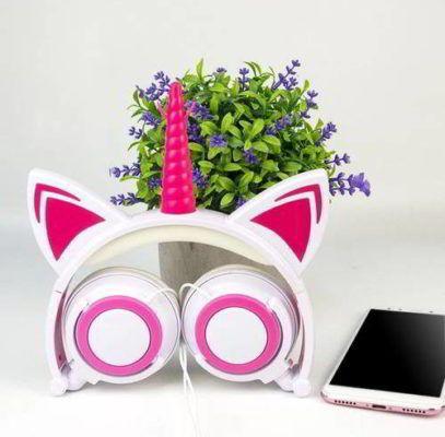 auriculares de unicornio para niñas