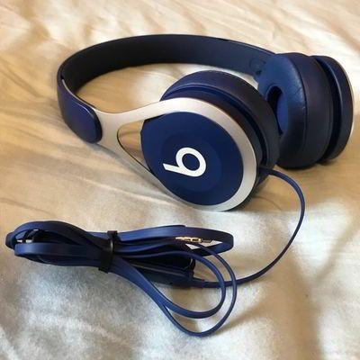 Beats EP con cable morados