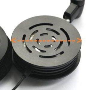 Medición del tamaño de los auriculares