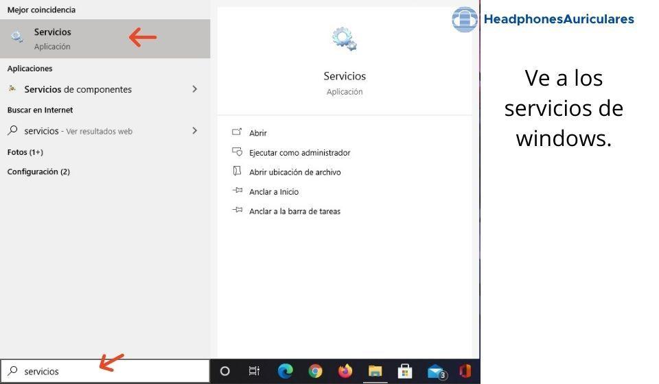 servicios de windows para instalar bluetooth