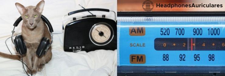 auriculares que tengan radio fm y am