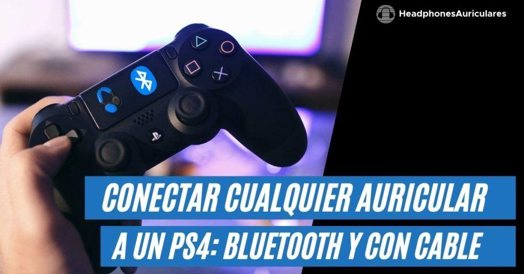 conectar auriculares bluetooth a un ps4