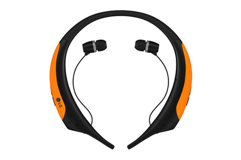 Auriculares lg tone active naranja