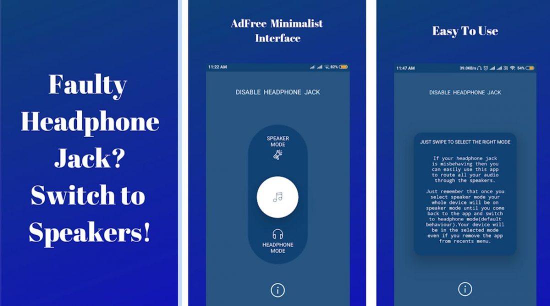 Imagen de activar altavoz app de google play