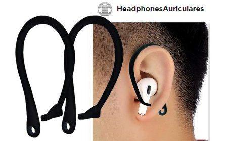 ganchos para auriculares para que no se caigan