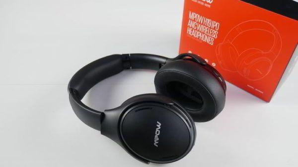 auriculares mpow h19 ipo con su caja